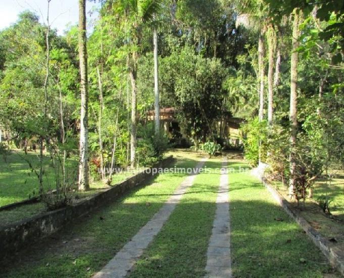 Fabio paes imóveis - sítio 9.000m² com frente murada.