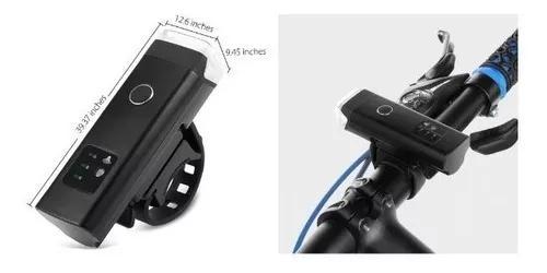 Farol lanterna bike 350lumes com sensor automatico! 2019