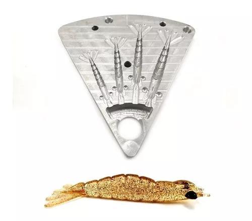 Forma de camarão artificial r z astro 6/7/8/9cm