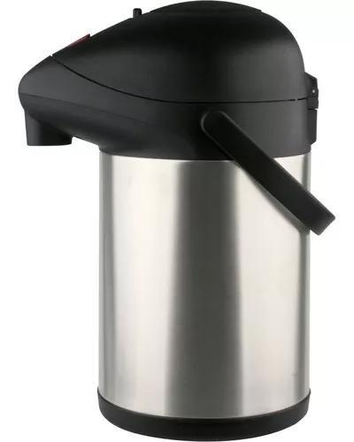 Garrafa térmica inox quente frio café 3 litros giratória