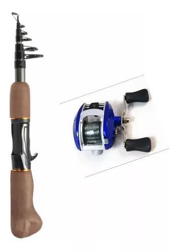 Kit pesqueiro vara + carretilha