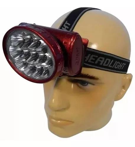 Lanterna de cabeça led cree q5 recarregável pronta entrega