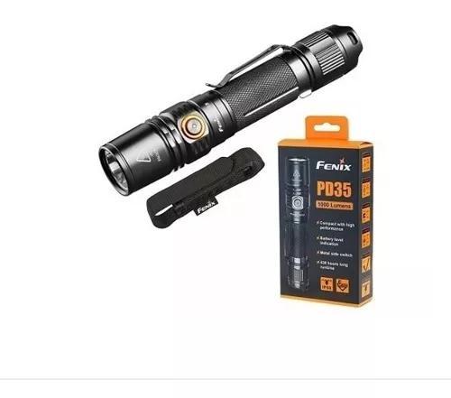 Lanterna fenix pd35 v2.0 versão 2018 1000 lumens original