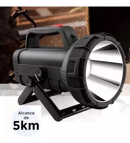 Lanterna holofote alcance 5km 5000 metros com led cree 14 ho