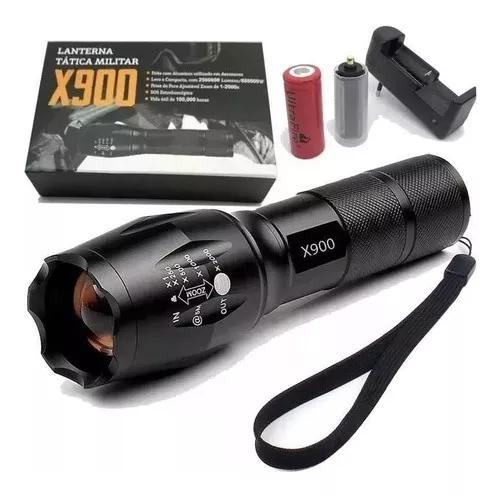 Lanterna Tatica Led X900 Profissional T6