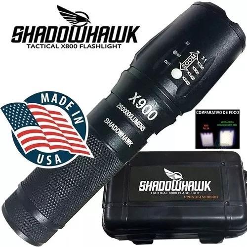 Lanterna tatica x900 shadowhawk militar original caixa-c/nfe