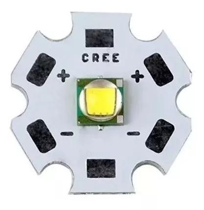 Led cree xm-l t6 lanterna 10w 6000 7000 k frete r$ 10,00