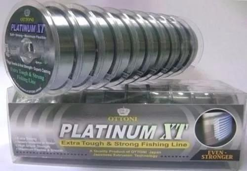 Linha monofilamento platinumxt c/10 0,80mm/100/83kg/181lb