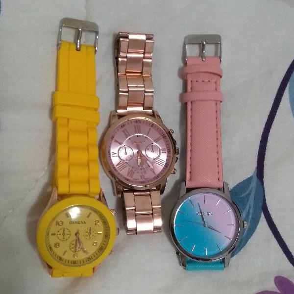 Lote relógios