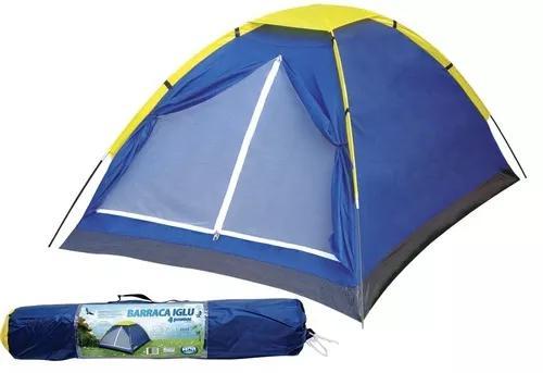 Promoção barraca p/ camping iglu mor 2 pessoas menor