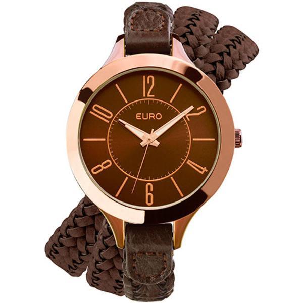 Relógio feminino euro analógico fashion eu2035fhz2t