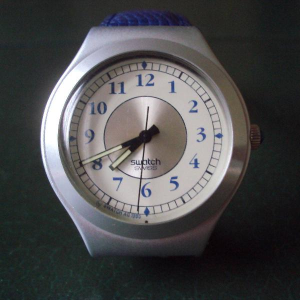 Relógio swatch irony retro