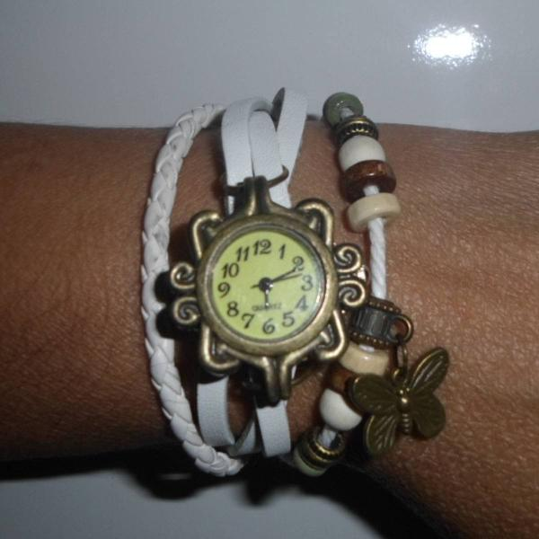 Relógio feminino retro vintage