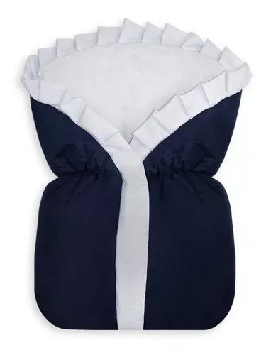 Saco de dormir com zíper cobertor manta bebê algodão +