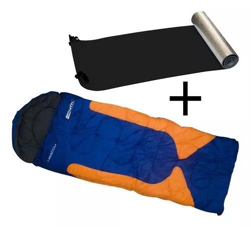 Saco dormir camping freedom +isolante eva térmico