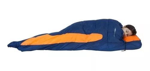 Saco térmico de dormir freedom capuz -1,5ºc / -3,5ºc