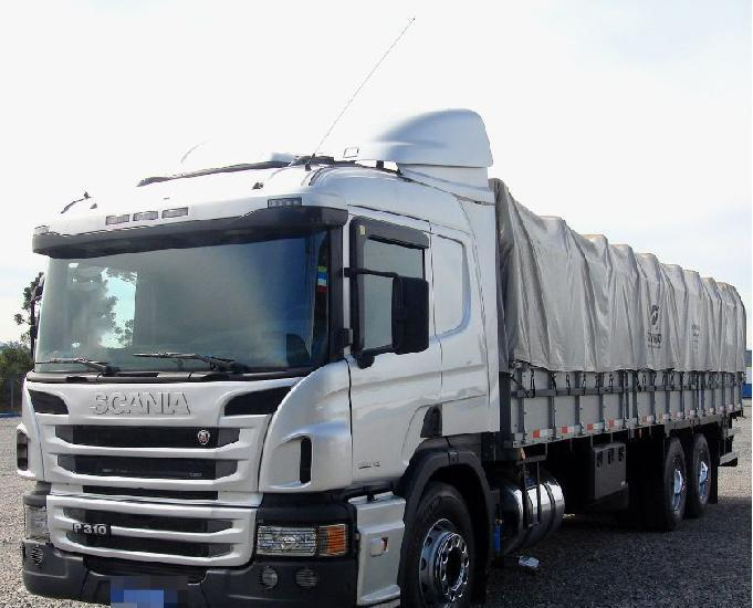 Scania p 310 6x2 opticruiser truck leito graneleiro ano 15