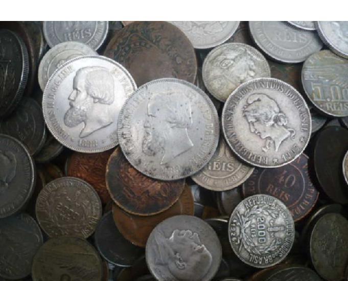 Vendo + de 5.000 moedas antigas desde ano 1.725 r$2000 tudo