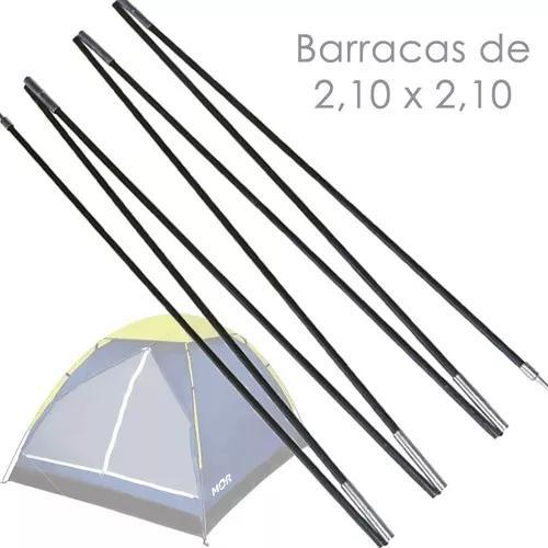 Vareta reposição fibra de vidro p barraca iglu 4 pessoas