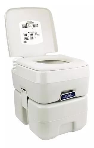 Vaso sanitário portátil banheiro químico 20l - ttp20