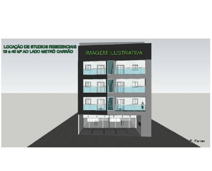 Vila carrão locação kitnets de 15 a 40 m² ao lado do