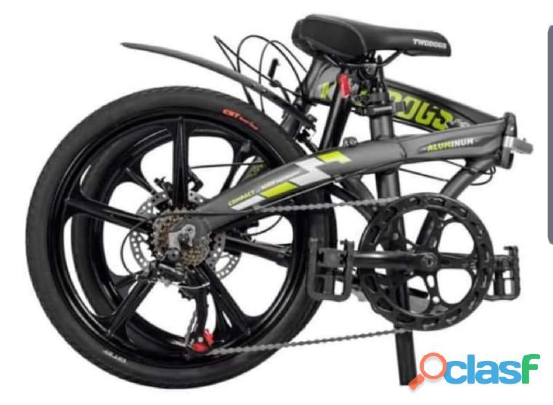 Bike dobrável alloy twodogs