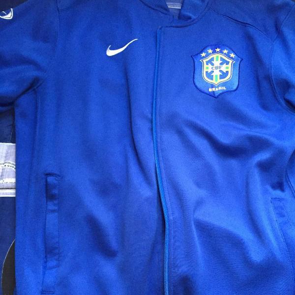 Blusa de frio, brasil, nike, original , tamanho p, usada