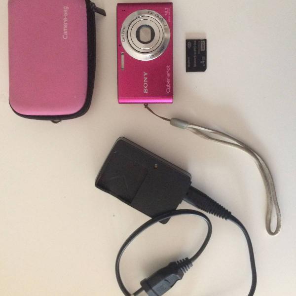 Camera digital sony cyber shot rosa