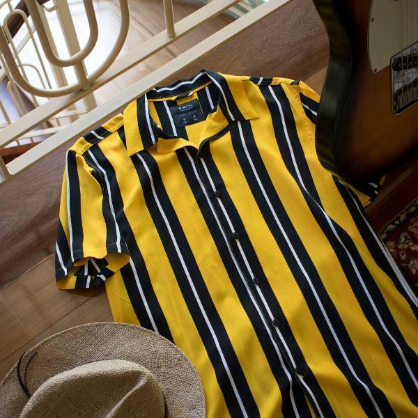 Camisa listrada 80's
