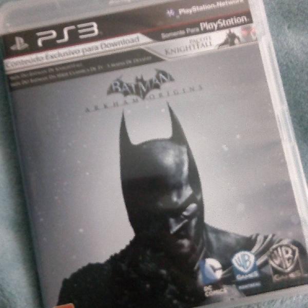 Jogo de ps3 batman arkham origins