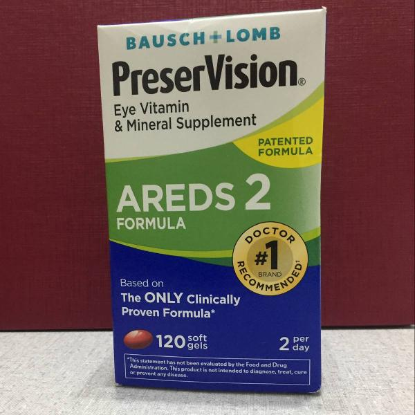Preservision areds 2 - bausch + lomb (120cap.)