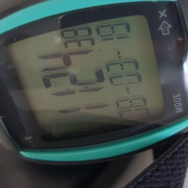 Relógio com monitor cardíaco