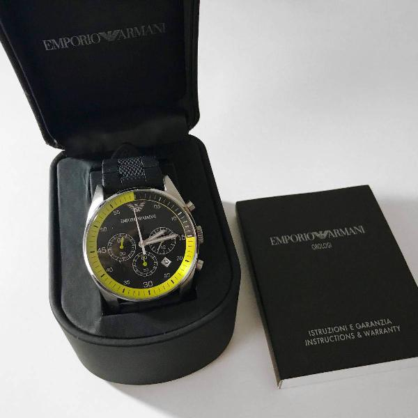 Relógio emporio armani ar 5865