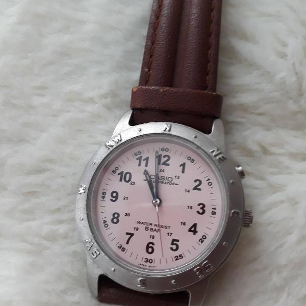 Relógio feminino casio esportivo cor de rosa