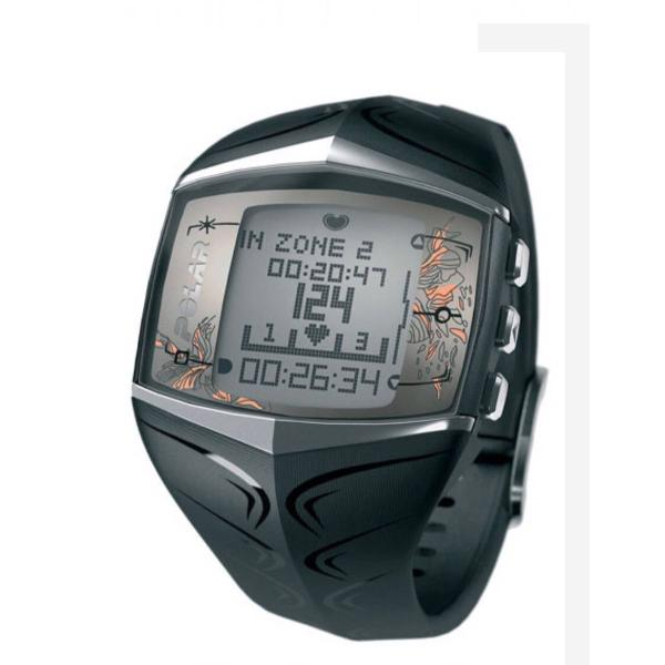 relógio monitor cardíaco polar ft60 feminino preto
