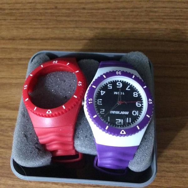 Relógio mormaii troca pulseira