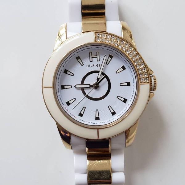 Relógio tommy branco