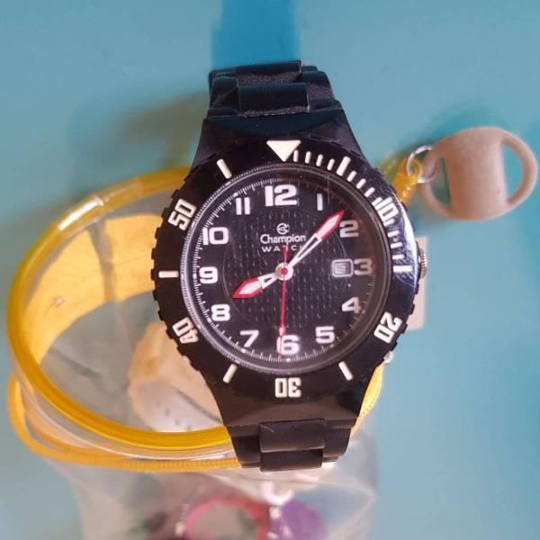 Relógio troca pulseira