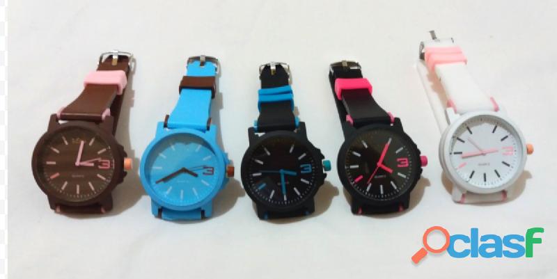 Relógios femininos baratos para revenda silicone pulseira colorida adidas para revenda