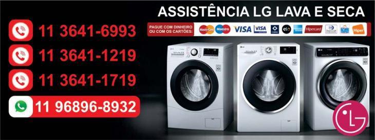 Assistência Técnica LG ou Samsung para Secadora de roupas