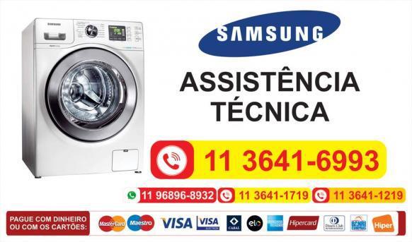 Serviços assistência técnica secadora de roupas samsung