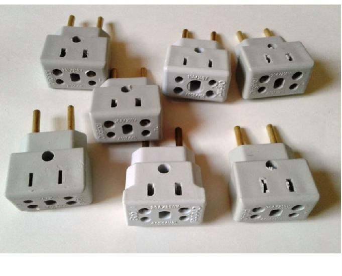 Adaptador elétrico 10 peças 20 a frete grátis