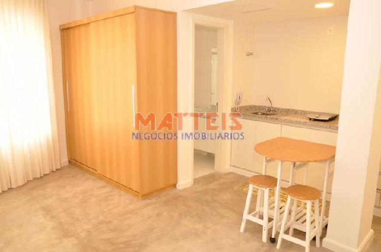 Apartamento com 1 quarto à venda, 25 m² por r$ 380.000