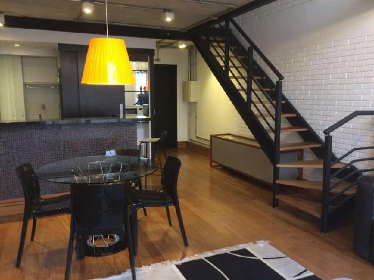 Apartamento com 2 quartos para alugar, 92 m² por r$