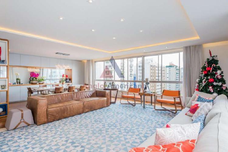 Apartamento com 3 quartos à venda, 284 m² por r$ 3.950.000