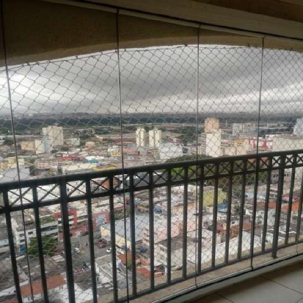 Apartamento com 3 quartos para alugar, 93 m² por r$