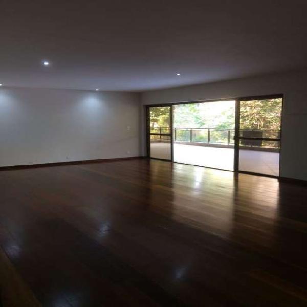 Apartamento com 4 quartos para alugar, 295 m² por r$