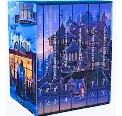 Box coleção harry potter a saga completa 7 livros -