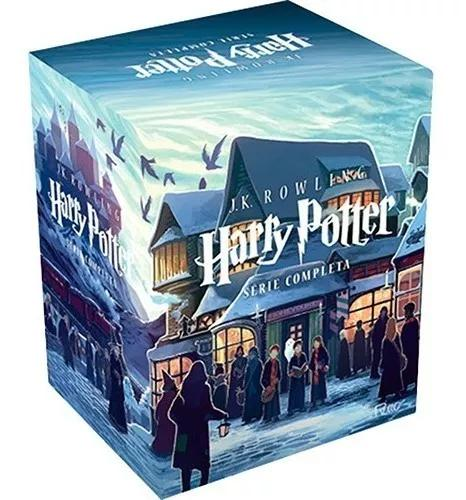 Box harry potter série completa j.k. rowling