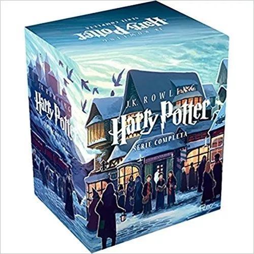 Box o mundo mágico de harry potter coleção completa 7